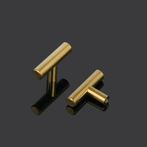 Probrico Matte Black cabinet Handles gold brass Furniture pulls long handle Kitchen closet Cupboard door Pulls drawer Knobs