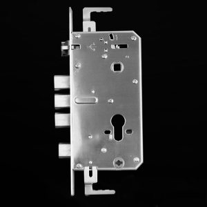 Universal Multi-function Mortise Door Lock Body finger print lock part for gates 24*240 mm door lock fittings
