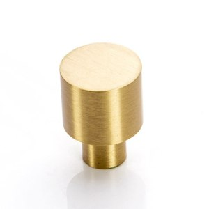 Solid Brass Cabinet Kitchen Drawer Cupboard Dresser Knobs Furniture Pulls Hardware Gold-10Pack