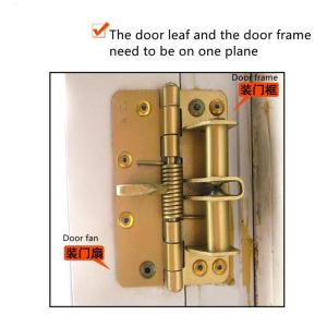Positioning hinge Spring self-aligning hinge Automatic closing door Multi-function screen door, wooden door hinge