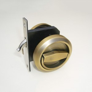 Black Golden Door Decoration Stainless Steel 304 Door Pocket Lock For Sliding Folding Cabinet Hardware