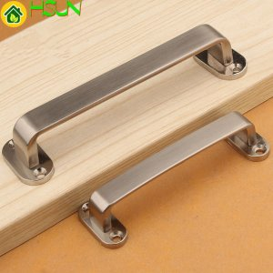 3.75'' 5'' 6.3''drawer Pulls Handles Knobs Brushed Nickel Steel Kitchen Cabinet Door Handles Pulls Dresser Pull 96mm 128mm 160mm