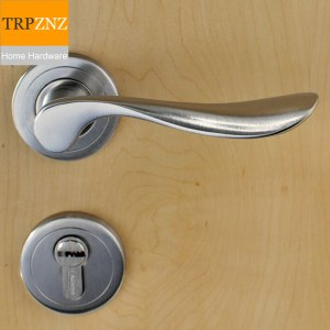 304 stainless steel black split door lock solid precision gold door lock handle 5572 European standard lock body