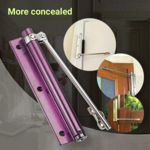 New Automatic Door Automatic Closing Hinge Closer Durable Shock Absorber For Home Office Store