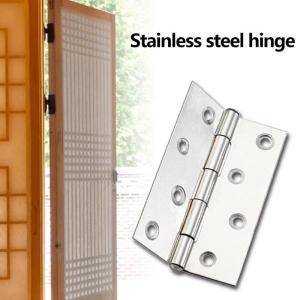 10pcs 8 Holes Stainless Steel Hinges Connectors for Window Kitchen Cabinet Furniture Repair Bookcase Stainless Hinges scharnier