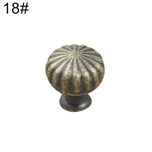 1pc Vintage Bronze Kitchen Cupboard Cabinet Wardrobe Furniture Pull Handle Knob Dresser Cupboard Wardrobe Furniture Pulls Handle