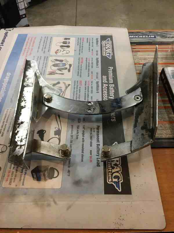 Harley Belt Guard Lower Softail/Customs By Daytec Chrome
