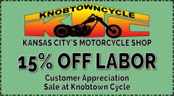 Knobtown Cycle Customer Appreciation Sale April 2019