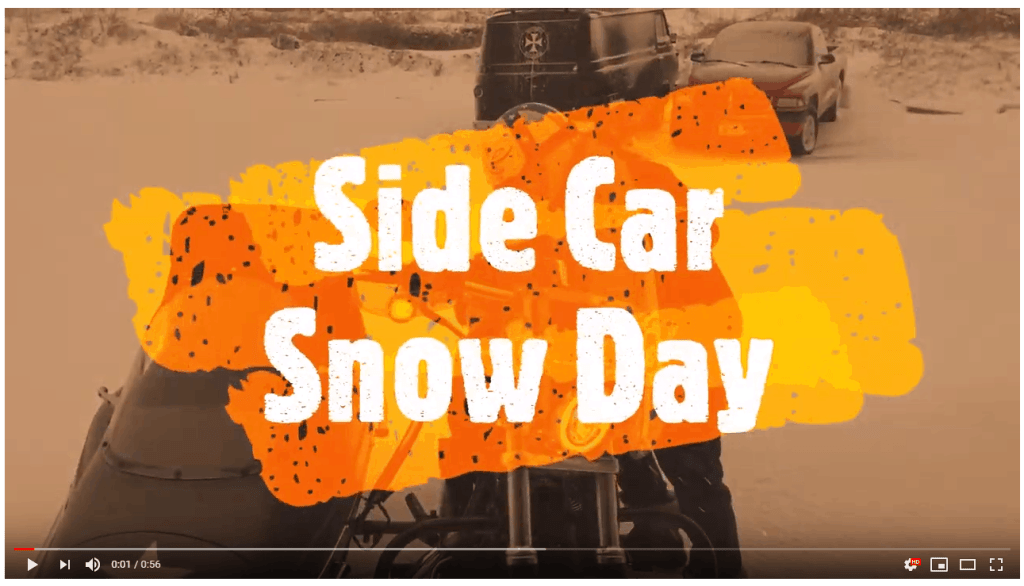 Side Car, Side Car Snow Day, Knobtown Cycle