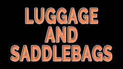 Luggage & Saddlebags