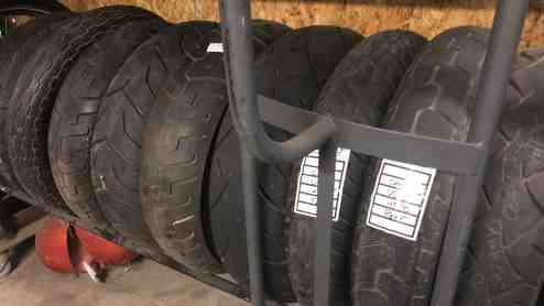 Used Motorcycle Tires at Knobtown Cycle