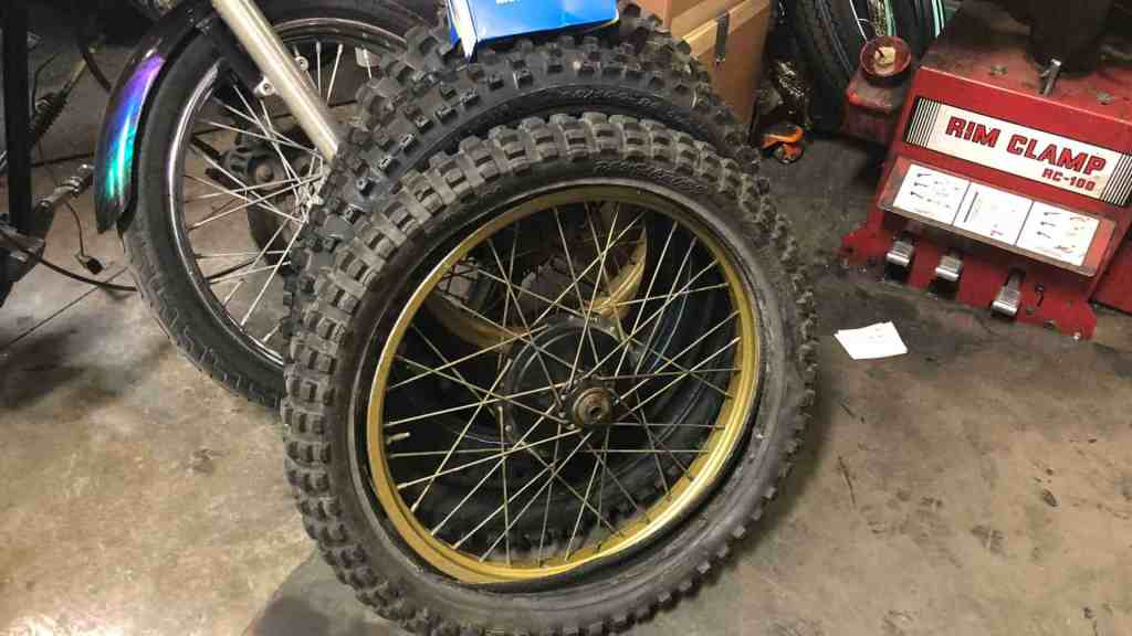 Custom Ordered Tires from Knobtown Cycle