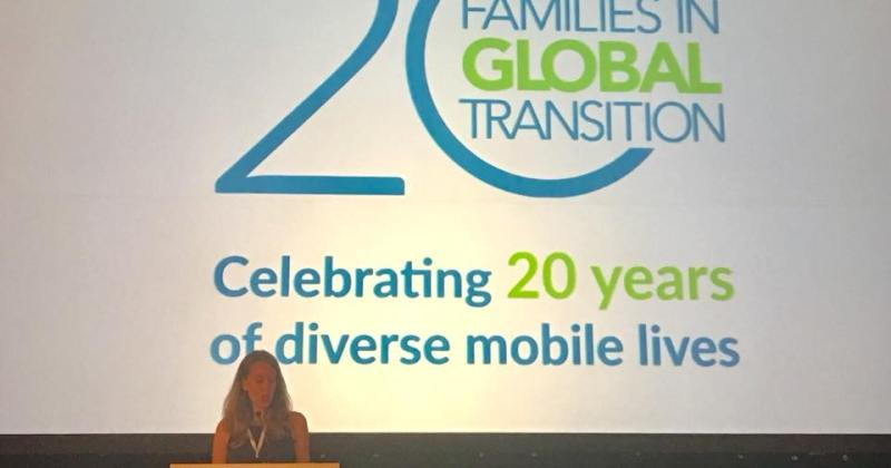 The 20th Anniversary of Families in Global Transition—Perhaps the best yet