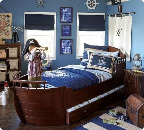 Nautical Pottery Barn Bedroom