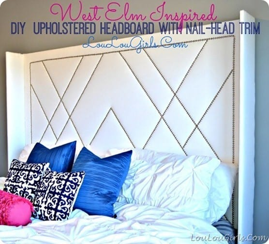 patterned nailhead trim knockoffdecor