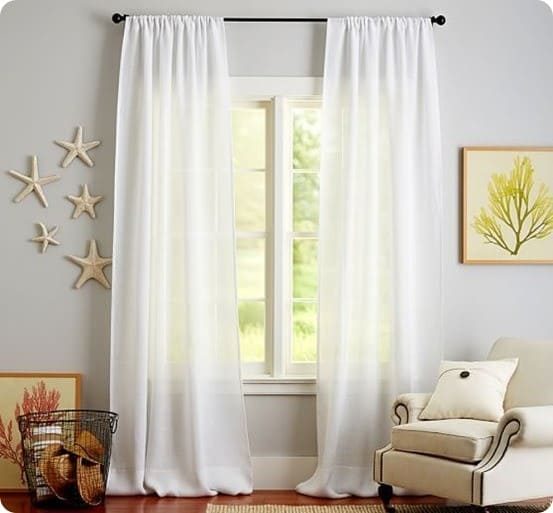 Save Money On CurtainsWith Tablecloths