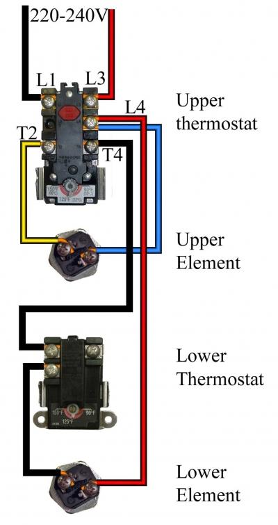 hot water heater 110 wiring diagram  schematic wiring
