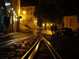 Ästhetik der Schienen - Lissabon