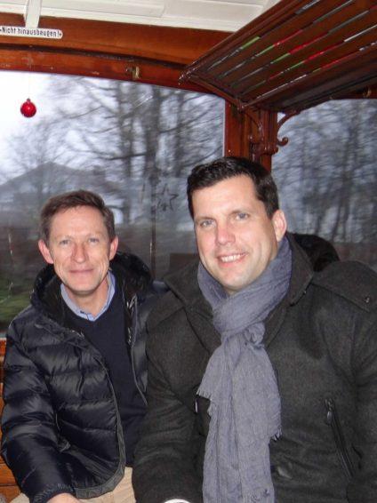 Wir verstehen einander - Obmann Pro Gmundner Straßenbahn und Bürgermeister von Gmunden