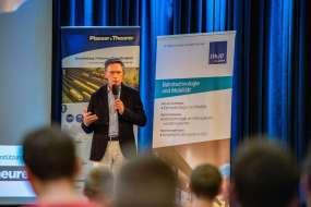 Semesteropening 2020, Vortrag. Foto: Tobias Jungmeier