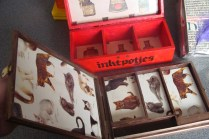 Kistje voor inktpotjes of.....Boxes for Ink pots or...
