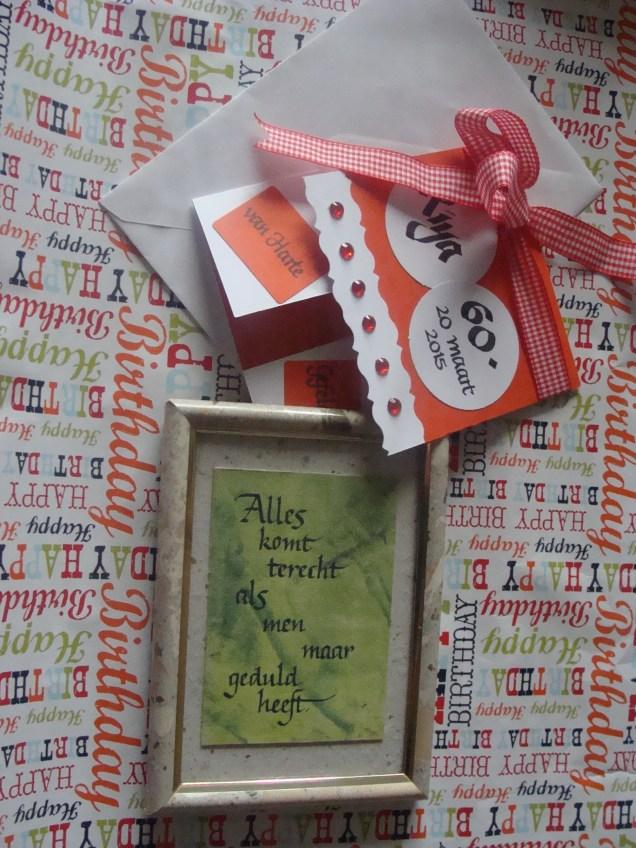 Mijn kadootje voor R. - My gift for R.