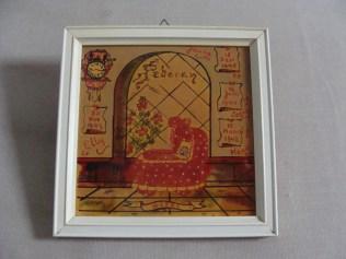 De gerestaureerde tegel - The restored tile