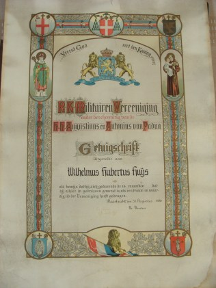 Het getuigschrift - The Certificate