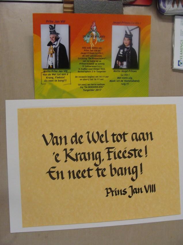 Leus van de Prins - Slogan from the Prince