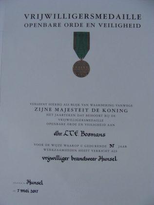 Een certificaat - A certificate