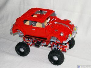 Lego Käfer auf Offraod-Fahrgestell 9398