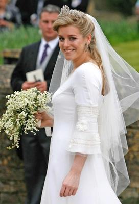 Laura Parker Bowles Robinson Valentine Wedding Dress