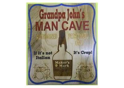 mancave for grandpa