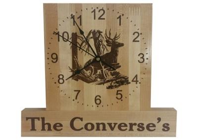 Converses Clock
