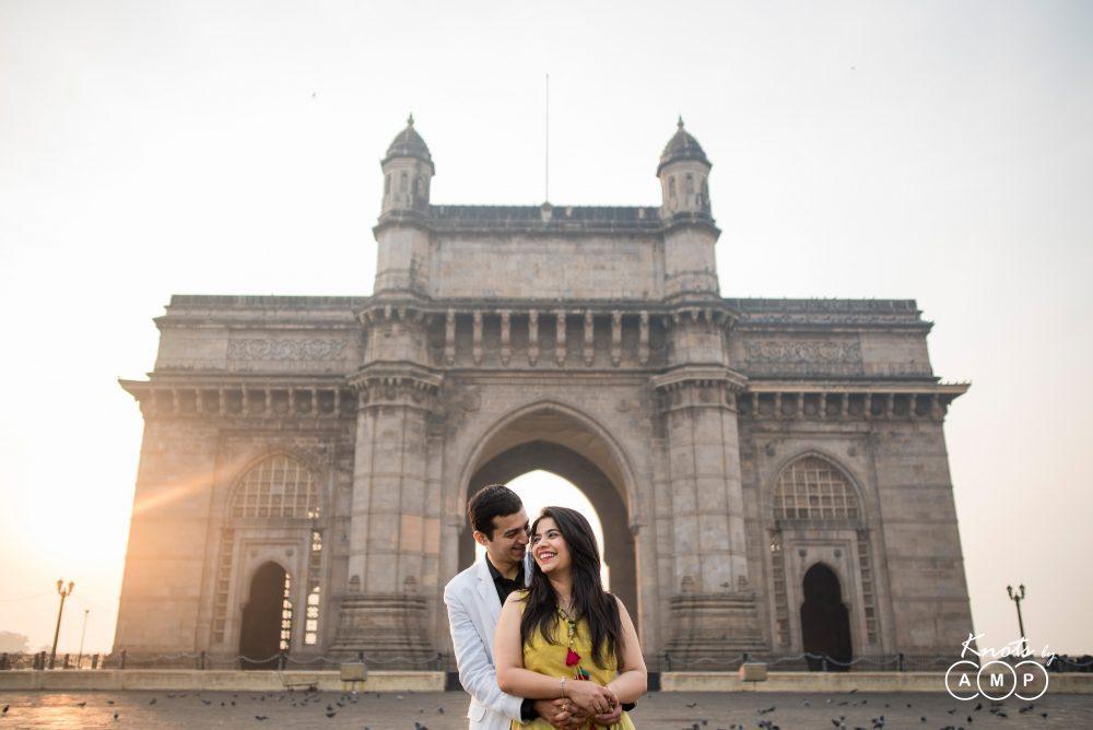 Pre-wedding in Mumbai: Harshit and Kinjal