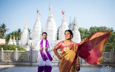 Kiran & Priyanka : Wedding at Juhu Iskon Temple