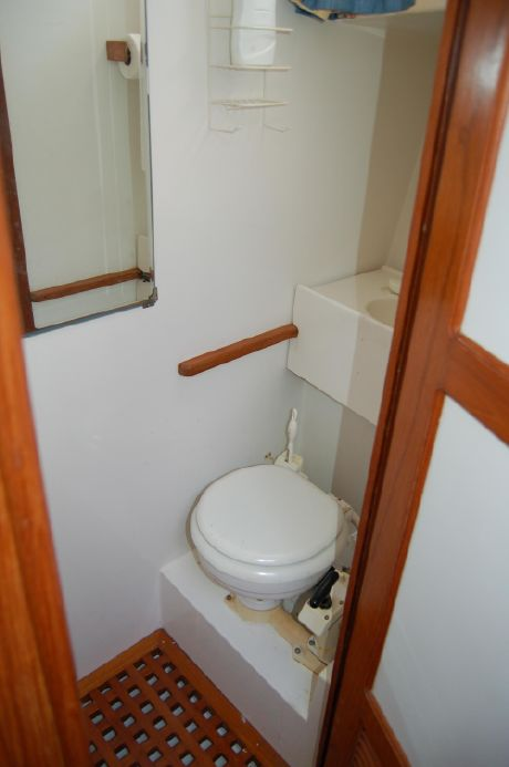 Forward Head (Original Toilet - Now Replaced With Electric Flush Unit)