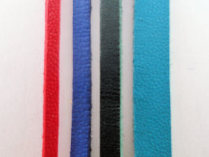 Sample of Leather Lace widths,300 X 225