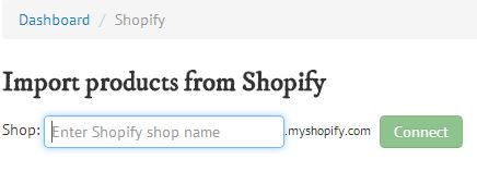 shopify-connect
