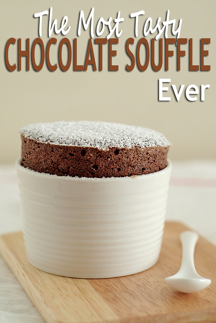 The Most Tasty Chocolate Souffle Ever