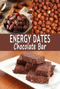 Energy Dates Chocolate Bar
