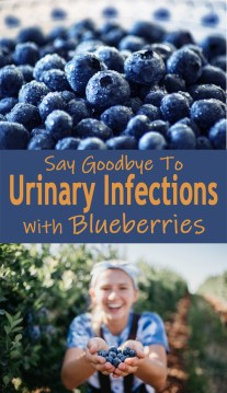 Say Goodbye To Urinary Infections With Blueberries