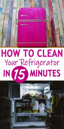 How To Clean Your Refrigerator In 15 Minutes