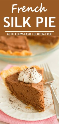 Keto French Silk Pie