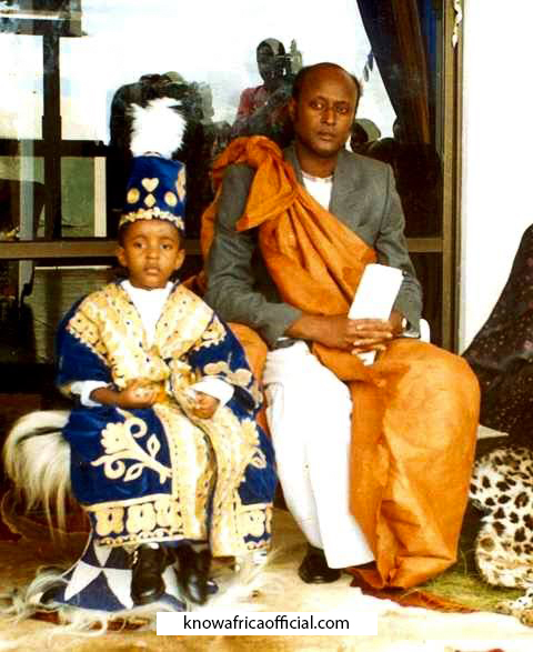 King Oyo was the World's Youngest King Who Ascended The Throne At Age 3