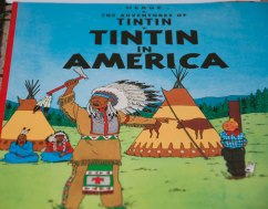 Tintin In America...he was the one who actually captured Al Capone!