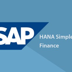 SAP S4 HANA SIMPLE FINANCE TRAINING