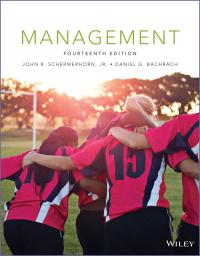 Management 14th Edition Schermerhorn PDF Free Download