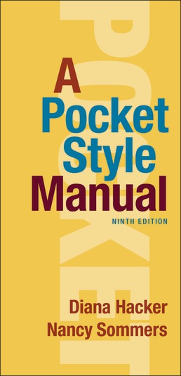 A Pocket Style Manual 9th Edition PDF Free Download