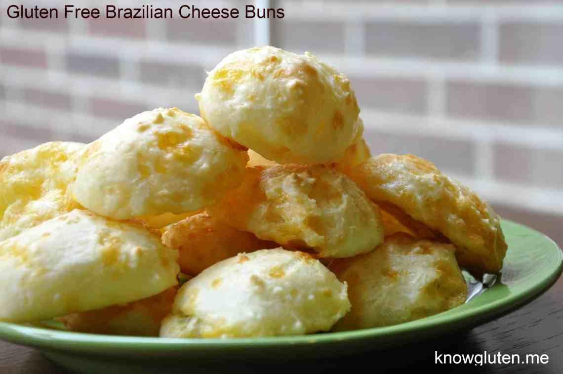 Gluten Free Bread Alternative Brazilian Cheese Buns